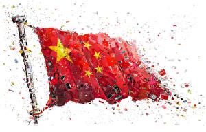 Картинки Оригинальные Флаг Китайские