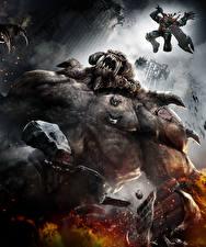Фото Darksiders Монстры Воины Прыжок Игры