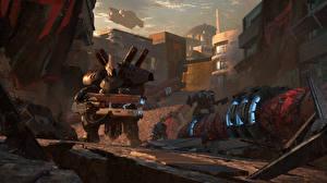 Фото Destiny 2 Робот Игры Фэнтези