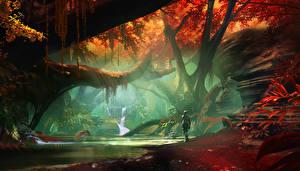 Картинки Фантастический мир Destiny 2 Игры Фэнтези