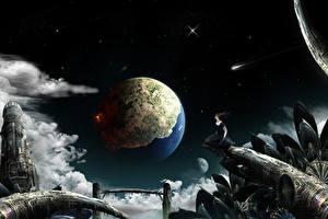 Картинки Фантастический мир Планета Фантастика