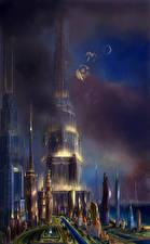 Фото Фантастический мир Небоскребы