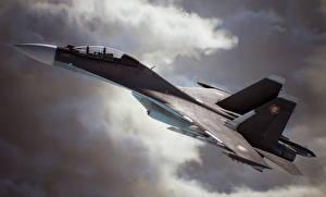 Картинки Самолеты Истребители Ace Combat 7: Skies Unknown Игры