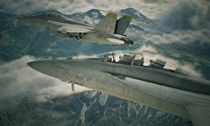 Картинка Самолеты Истребители Ace Combat 7: Skies Unknown Игры