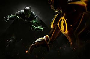 Картинка Герои комиксов Бэтмен герой Флэш герои Несправедливость 2 Игры