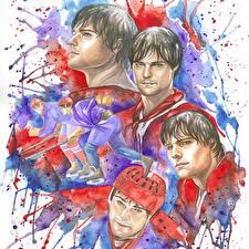 Картинки Хоккей Рисованные Мужчины Legenda No. 17 (2013), Danila Kozlovsky Кино