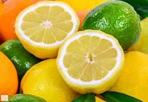 Фото Лимоны Лайм Вблизи Пища