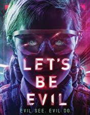 Обои Голова Очки Взгляд Let's Be Evil (2016)