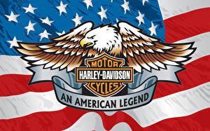Картинки Логотип эмблема Xарлей дэвидсон Мотоциклы