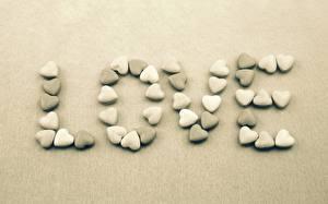 Картинки Любовь Камень Слово - Надпись Английский