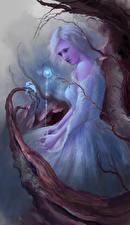 Фотография Волшебство Платье Девушки