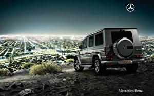 Картинки Mercedes-Benz Вид G-Class Gelandewagen Автомобили