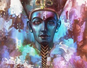 Фото Голова Смотрит Pharaoh