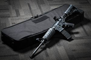 Обои Винтовки AR 15