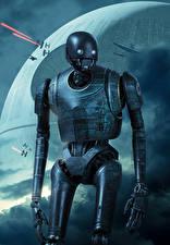 Картинки Изгой-один. Звёздные войны: Истории Робот K-2SO Кино