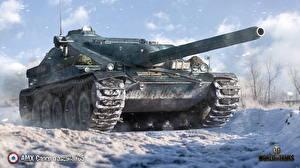Картинка САУ WOT AMX Canon d'assaut 105