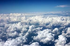Фото Небо Облака Сверху