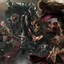 Картинки Супермен герой Флэш герои Герои комиксов Несправедливость 2 Сражение Игры Фэнтези