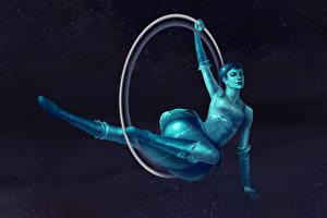 Фотографии Сверхъестественные существа Planet Girl Uranus Фэнтези Девушки