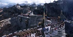 Обои Великая стена 2016 Воители Стена Фильмы