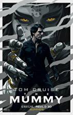 Картинки Мумия 2017 Tom Cruise Сверхъестественные существа Рисованные Фильмы