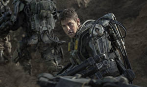 Картинка Tom Cruise Воители Мужчины Грань будущего Фильмы Знаменитости