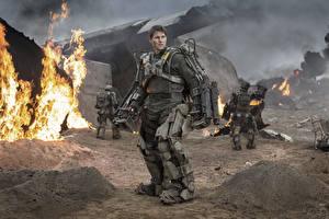 Фотография Том Круз Воины Мужчины Грань будущего Кино Знаменитости