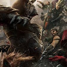 Фото Воины Монстры Несправедливость 2 Игры