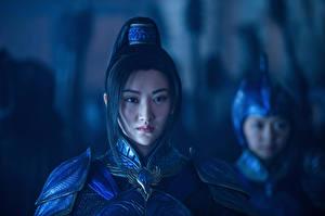 Фотографии Воители Великая стена 2016 Jing Tian Кино Девушки