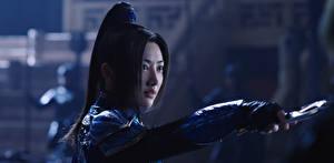 Обои Воители Великая стена 2016 Jing Tian Девушки