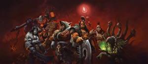 Картинки World of WarCraft Орки Воители Фэнтези