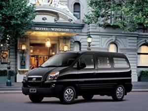 Фотографии Черный 2006-16 JAC Refine II Автомобили