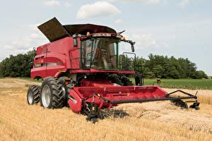 Обои Сельскохозяйственная техника Поля 2015–17 Case IH Axial-Flow 8240