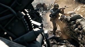 Фото Battlefield 1 Солдаты Винтовки 3D_Графика