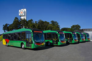 Фотография Автобус Зеленый 2016-17 Marcopolo Viale BRT Scania K250 UB 4×2
