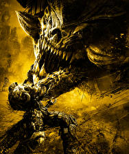 Картинка Darksiders Воины Монстры Игры Фэнтези