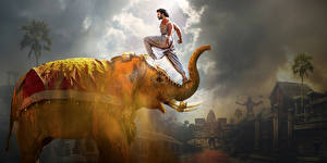 Фото Слоны Мужчины Бахубали: Рождение легенды Prabhas Кино