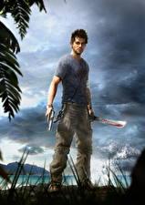 Обои Far Cry 3 Пистолеты Парни Jason Brody
