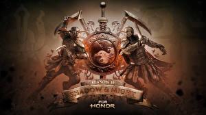 Обои For Honor Воины Слово - Надпись