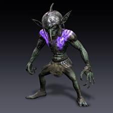 Фотографии Гоблины Bladestorm Игры Фэнтези 3D_Графика