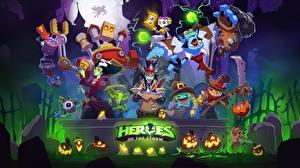Обои Хеллоуин Heroes of the Storm