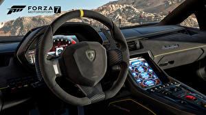 Картинка Ламборгини Forza Motorsport 7 Рулевое колесо Игры