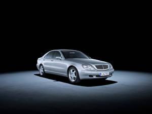 Фотография Mercedes-Benz Старинные 1999-2002 S 400 CDI Авто
