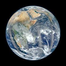 Картинка Планета Африка Земля