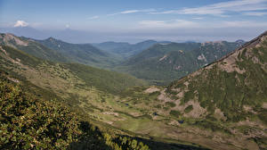 Фотографии Россия Камчатка Горы Природа