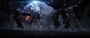 Обои StarCraft 2 Воители Сара Керриган Игры