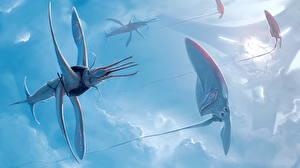 Обои Сверхъестественные существа Летящий Фантастика