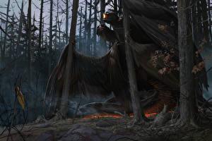 Картинка Сверхъестественные существа Деревья