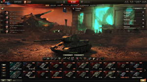 Картинки Танки Т-34 World of Tanks Русские