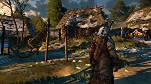 Обои The Witcher 3: Wild Hunt Деревня 3D_Графика